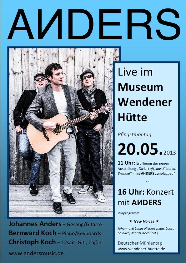 Plakat ANDERS - Wendener Hütte 20-05-2013 b