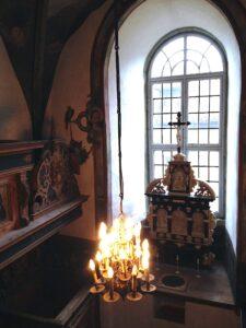 Renaissance Kapelle auf Burg Schnellenberg
