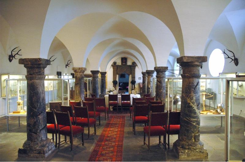 Trauzimmer auf Burg Schnellenberg