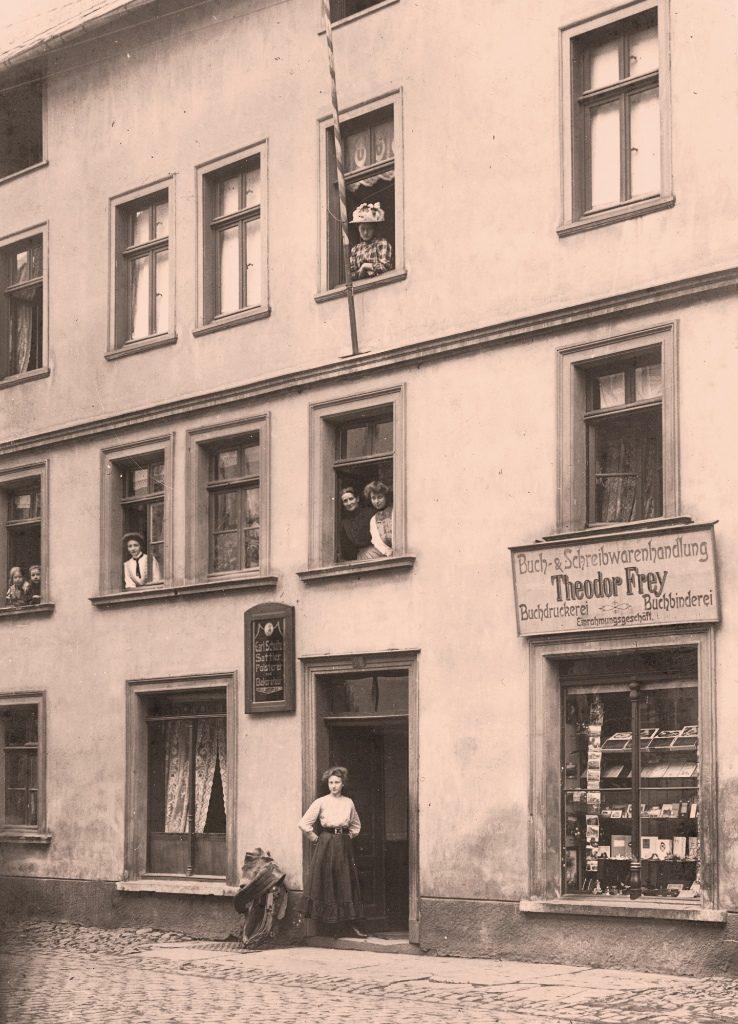 Die Druckerei und Buchbinderei Theodor Frey im Haus Sattler-Schulte in Attendorn