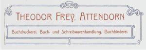 Theodor Frey - Logo von 1902