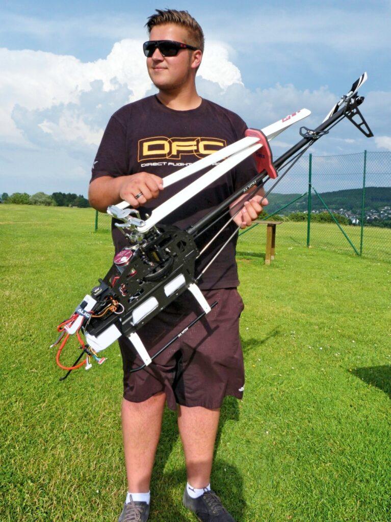 3D-Pilot Steffen Richter ist extrem und extrem erfolgreich unterwegs.