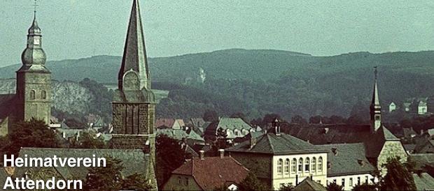 Ein Bild des Löwenapothekers Emil Peiffer von 1940. Rechts die Franziskanerkirche, die 1952 abgerissen wurde.