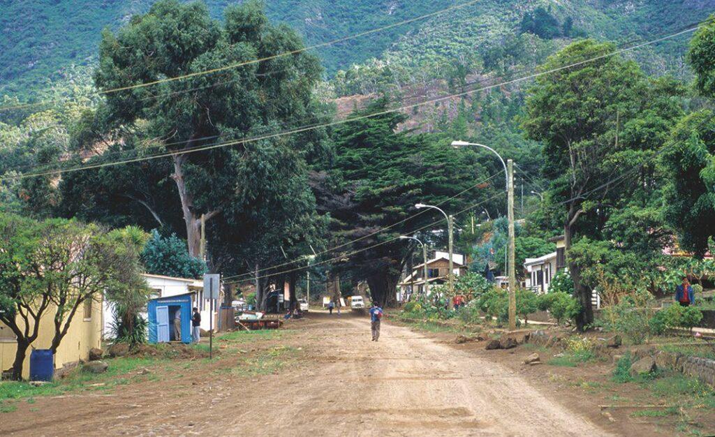 Die Hauptstraße in San Juan Bautista