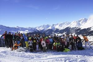 Alpenpanorama vom Feinsten: SchneeKanonen-Freizeit nach See im Paznauental