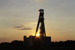 Industriedenkmal: Schacht 2 der Zeche Hugo in Gelsenkirchen