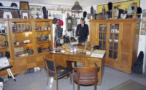 """Betriebsführerzimmer im """"kleinen Museum"""