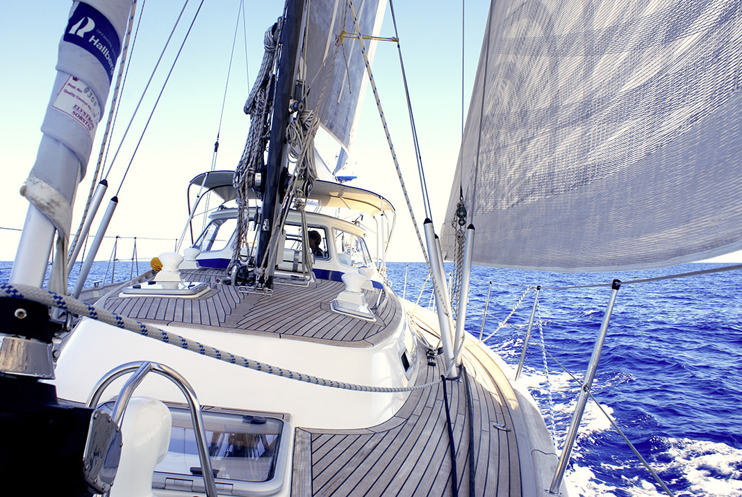WOLL Sauerland Segelboot