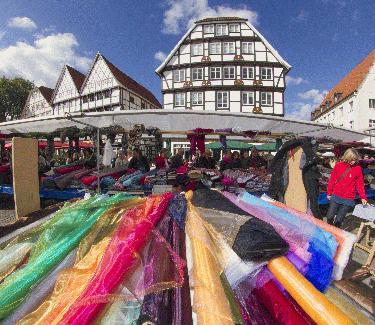 Deutsch-holländischer Stoffmarkt Soest