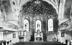 Erlöserkirche Innenansicht 1914