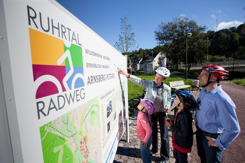 Ruhrtalradweg, Sauerland,