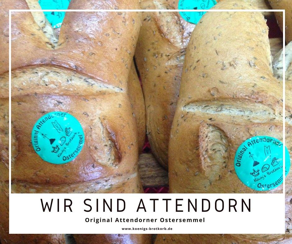 Original Attendorner-Ostersemmel - Königs-Brot