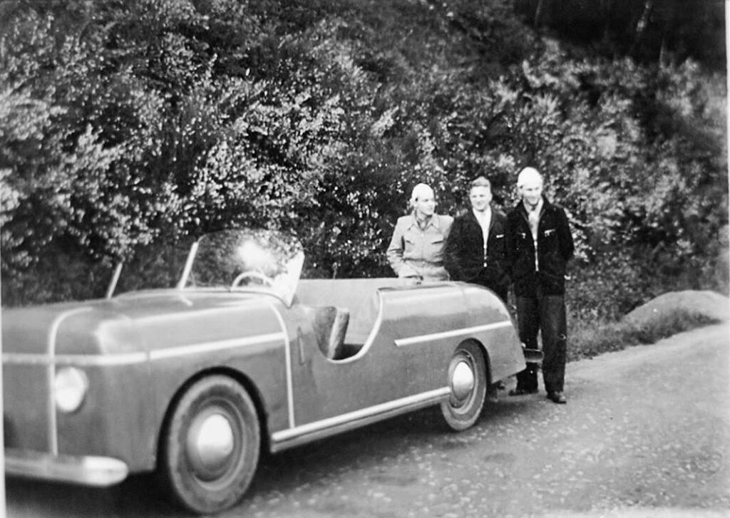 """WOLL Sauerland """"Der Roadster auf dem Fahrgestell eines ehemaligen Kübelwagens der Wehrmacht"""""""