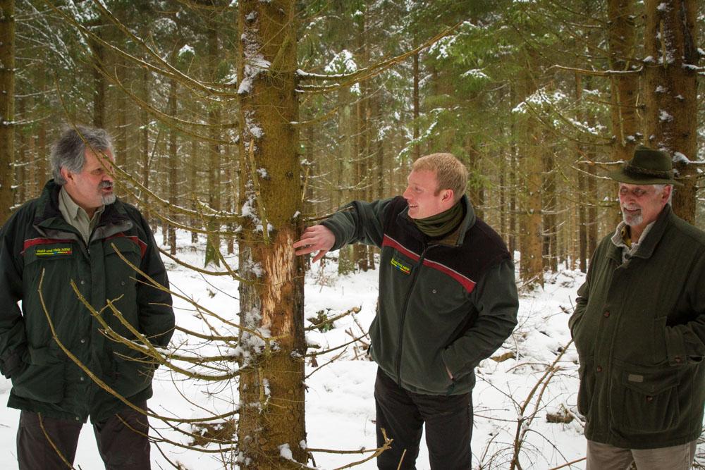 Jahrespressegespräch des Forstamtes Oberes Sauerland