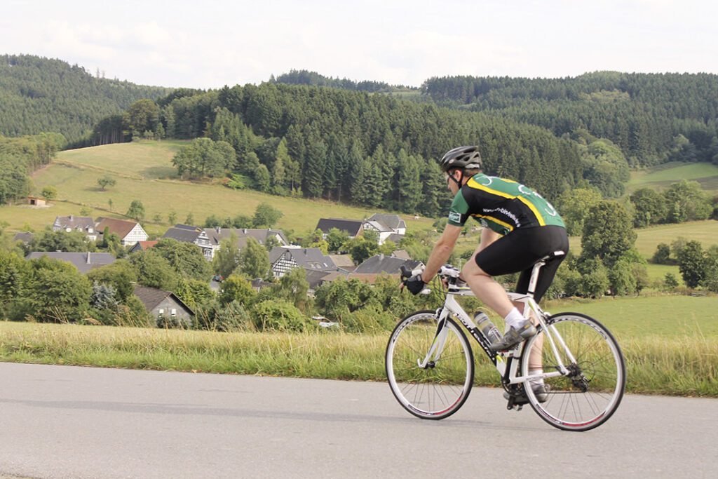 WOLL Sauerland - Radroute Repetal