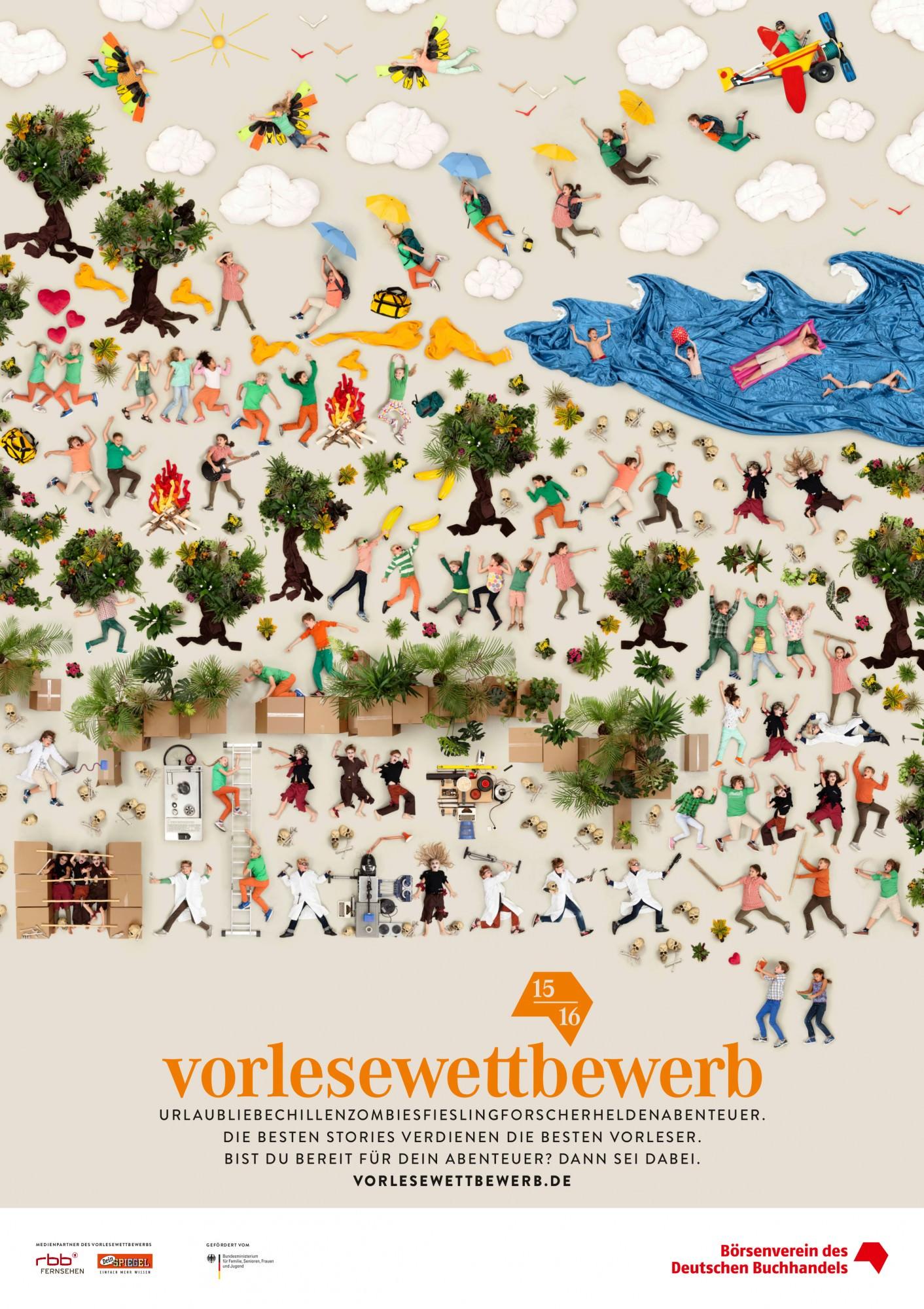 Vorlesewettbewerb 2016 - plakat