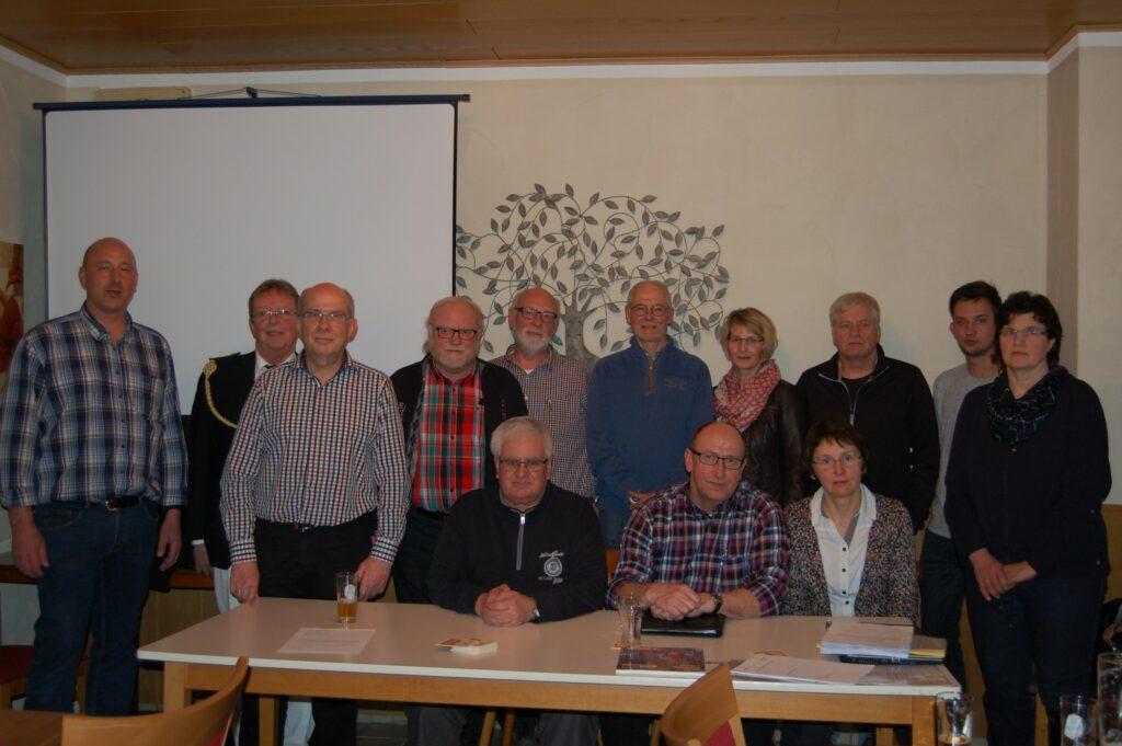 Tüllmann Vorsitzender des neu gegründeten  Dorfvereins Bracht-Werntrop Foto: Tiny Brouwers