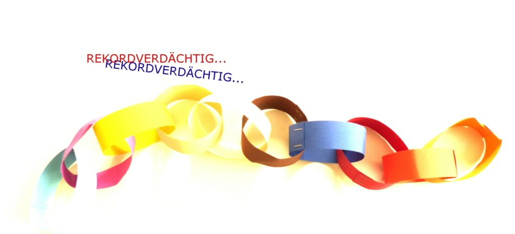 WOLL Sauerland Papierkettenrekord
