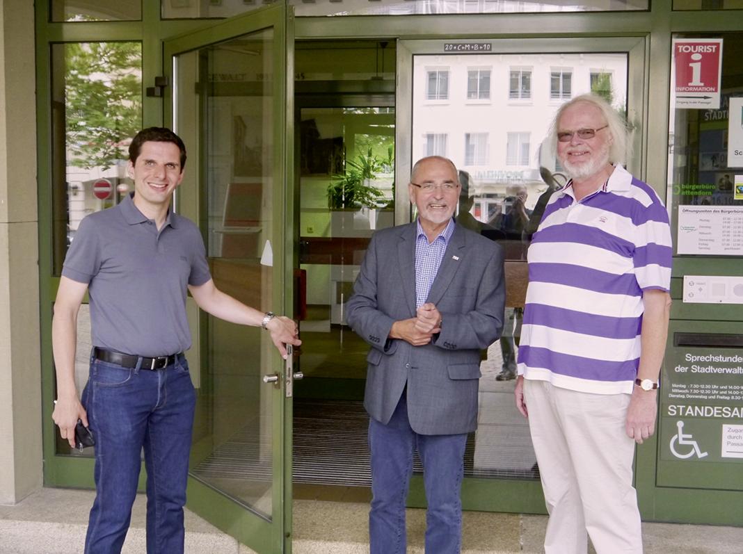 WOLL Sauerland Regierungspräsident Bollermann in Attendorn