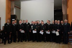 Auszeichnungen mit dem Feuerwehrehrenzeichen in Silber und Gold