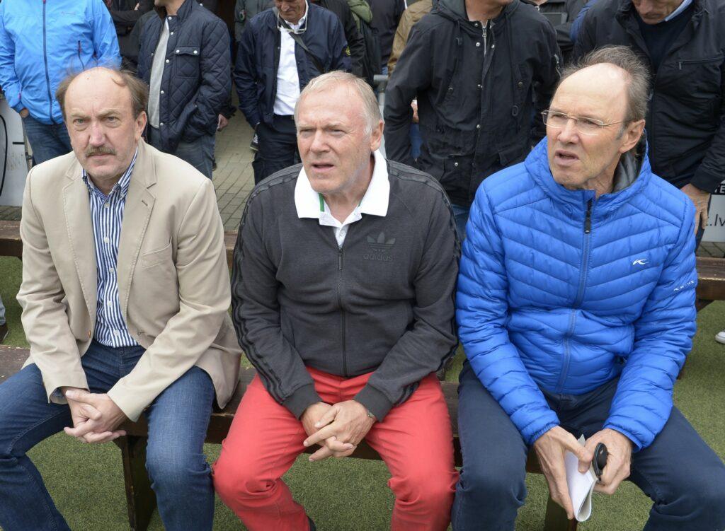 Meisterjahn, Gerland, Koch - Trainertagung Sauerland