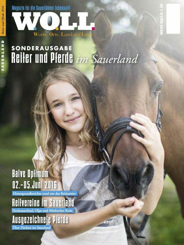Reiter und Pferde im Sauerland