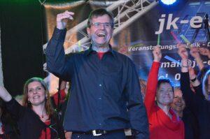 Chorleiter Heinz-Dieter Baumeister