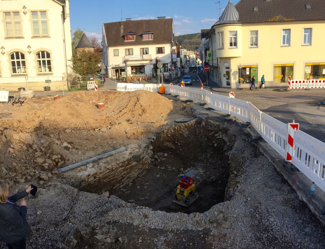 Stadttor Attendorn - Grabungen Ennester Tor - Attendorn