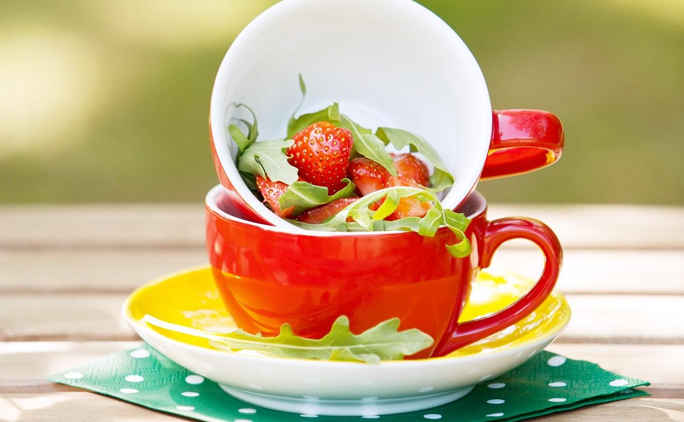 Erdbeeren - Foto:Maja Frey