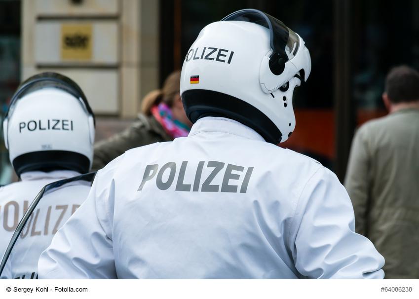 Motorrad Polizei Deutschland - Foto:Sergey Kohl