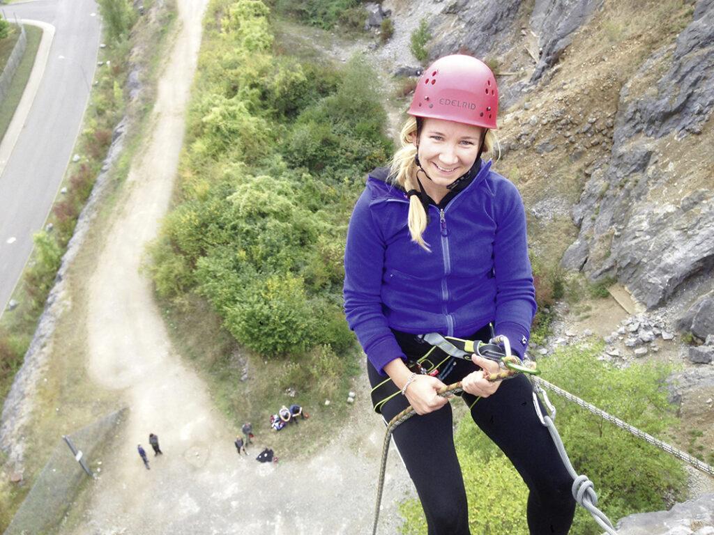 """Felsklettern, Bergsteigen oder Bergwandern. All diese Aktivitäten erleben seit einigen Jahren einen wahren Boom. Auch und gerade im Sauerland, bekanntlich das """"Land der 1.000 Berge"""". Hierüber haben wir in der Herbstaugabe 2013 unseres WOLL-Magazins schon ausführlich berichtet."""