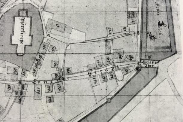 plan feuerteich - attendorn 1810 - uebersicht