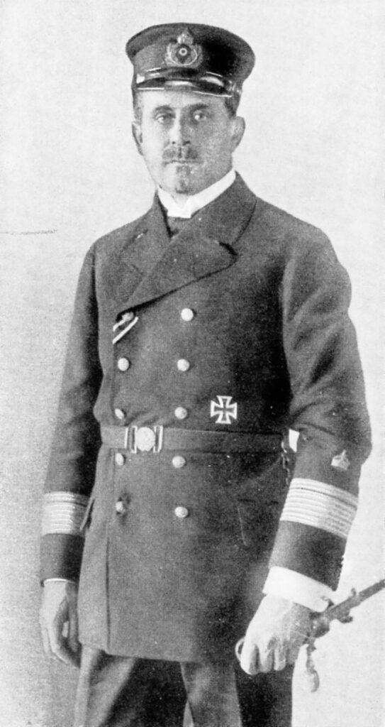 Albert Hopmann im Kriegsjahr 1915. Er starb 1942 kurz vor seinem 77. Geburtstag in Berlin.