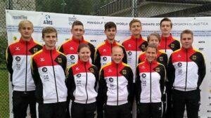 U23-Nationalmannschaft im Minigolf