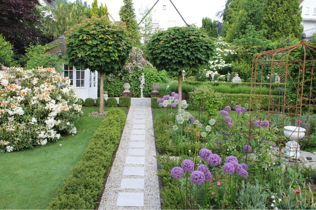Gartenbesichtigung Oehndorf-Garten