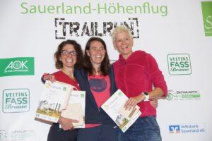 Siegerinnen Halbmarathon