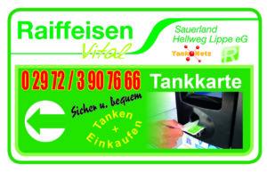 Raiffeisen-Tankkarte