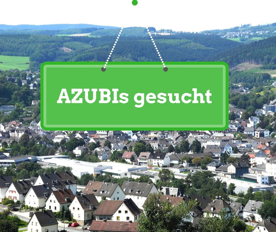 AZUBI gesucht - Freie Ausbildungsstellen Kreis Olpe