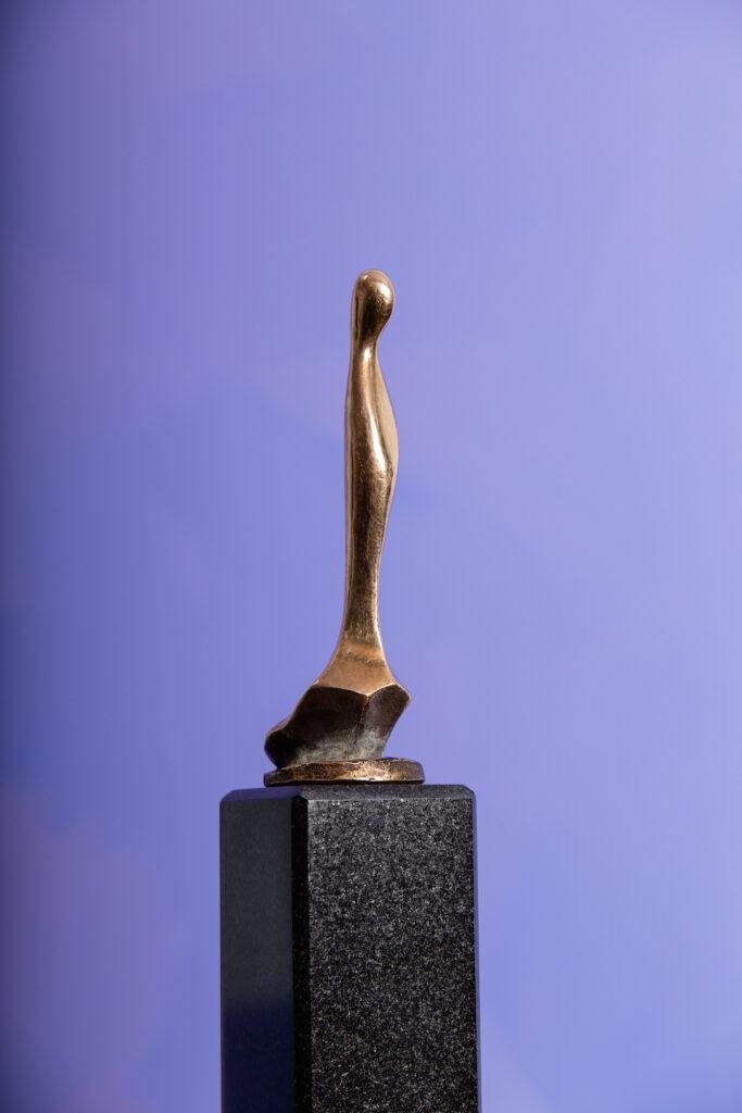 "Skulptur ""Mutter Gottes"", Bronze"