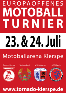 Plakat Tornado Open 2016