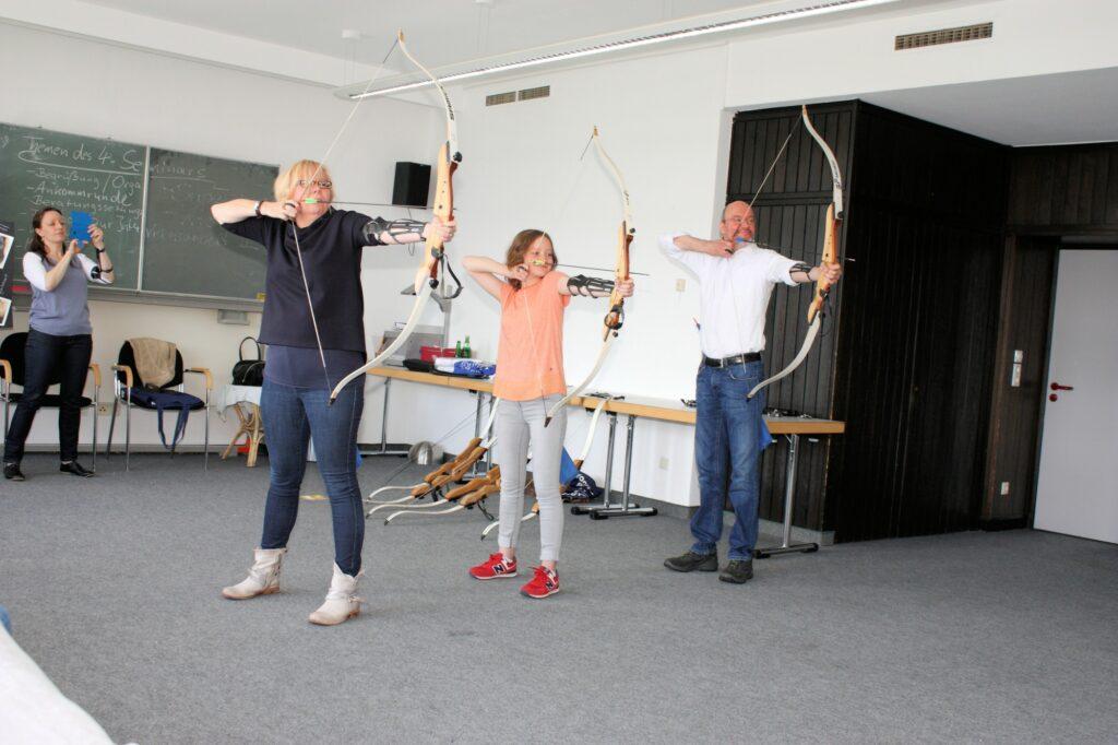 Bogenschießen – ein Erlebnis für die ganze Familie.