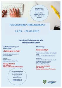 Finnentroper Medienwoche 2016
