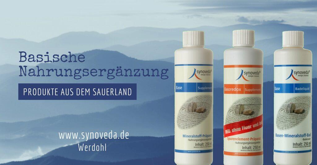 Synoveda - Produkte aus dem Sauerland