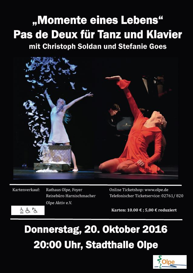 Christoph Soldan Stefanie Goes Klavier Tanz