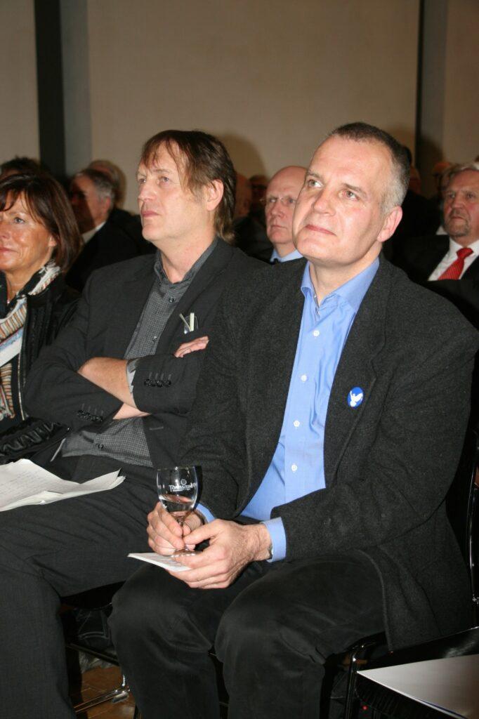 Prof. Dr. Walter Gödden stellte in seiner Laudatio das umfangreiche und vielseitige Wirken von Peter Bürger in den Mittelpunkt.