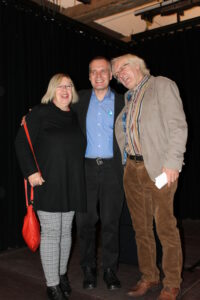 Marie-Anne und Carl-Heinz Dirks mit Peter Bürger.
