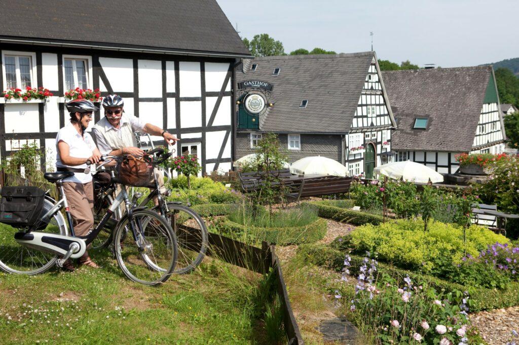 Ruhrtal-Radweg bei Olsberg-Assinghausen