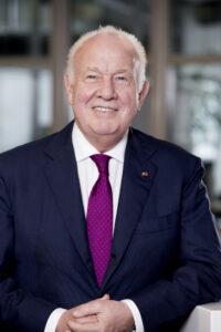 Unternehmer Walter Mennekes, seit 25. November 2. Vizepräsident des FC Bayern München