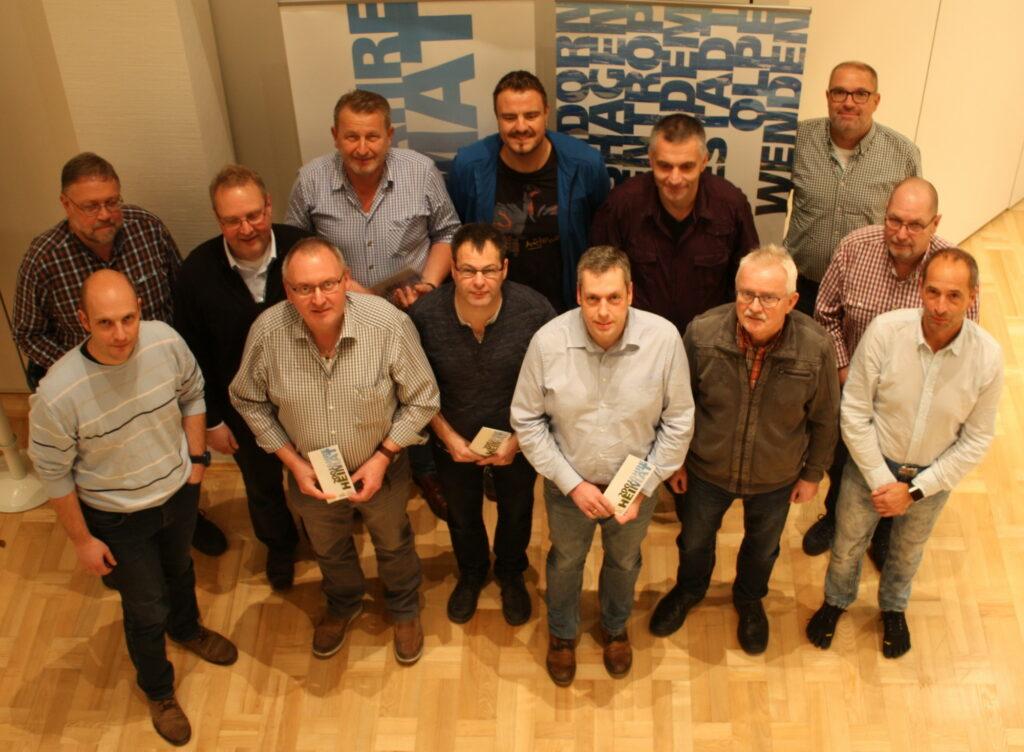 Mitglieder der Koordinierungsgruppe zur Vorbereitung der Blaulichtmeile (Foto: Kreis Olpe).