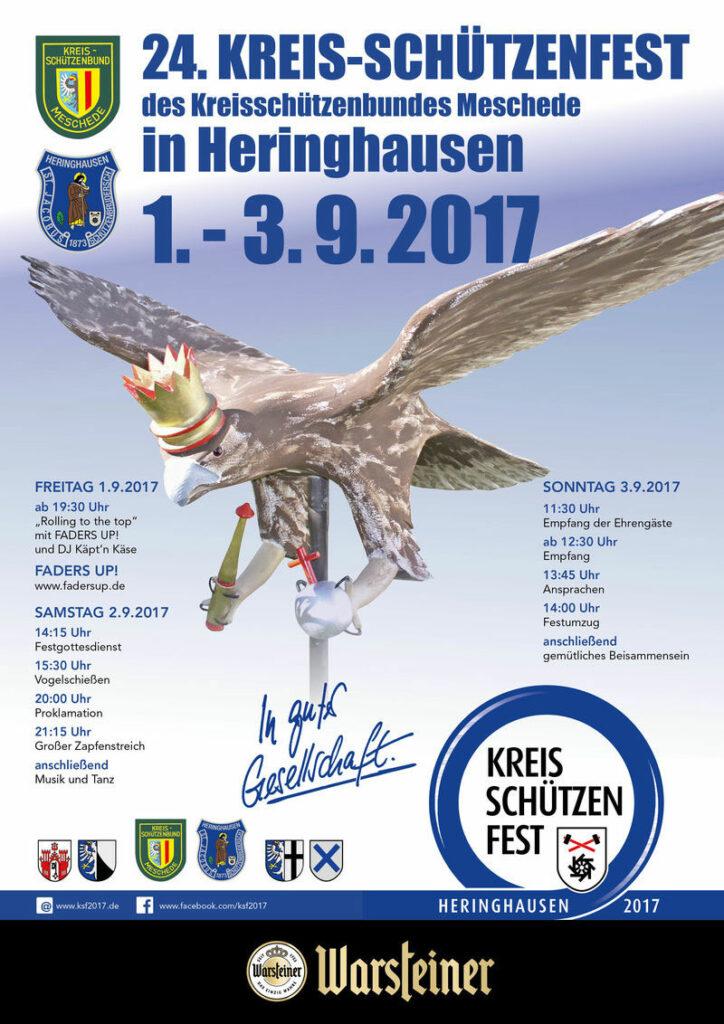 Programm Kreisschützenfest Heringhausen 2017